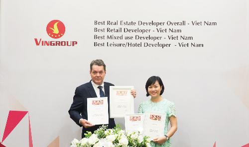Vingroup nhà phát triển bất động sản tốt nhất Việt Nam