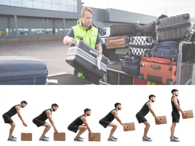 Airside Safety | Safe Manual Handling and Lifting Technique