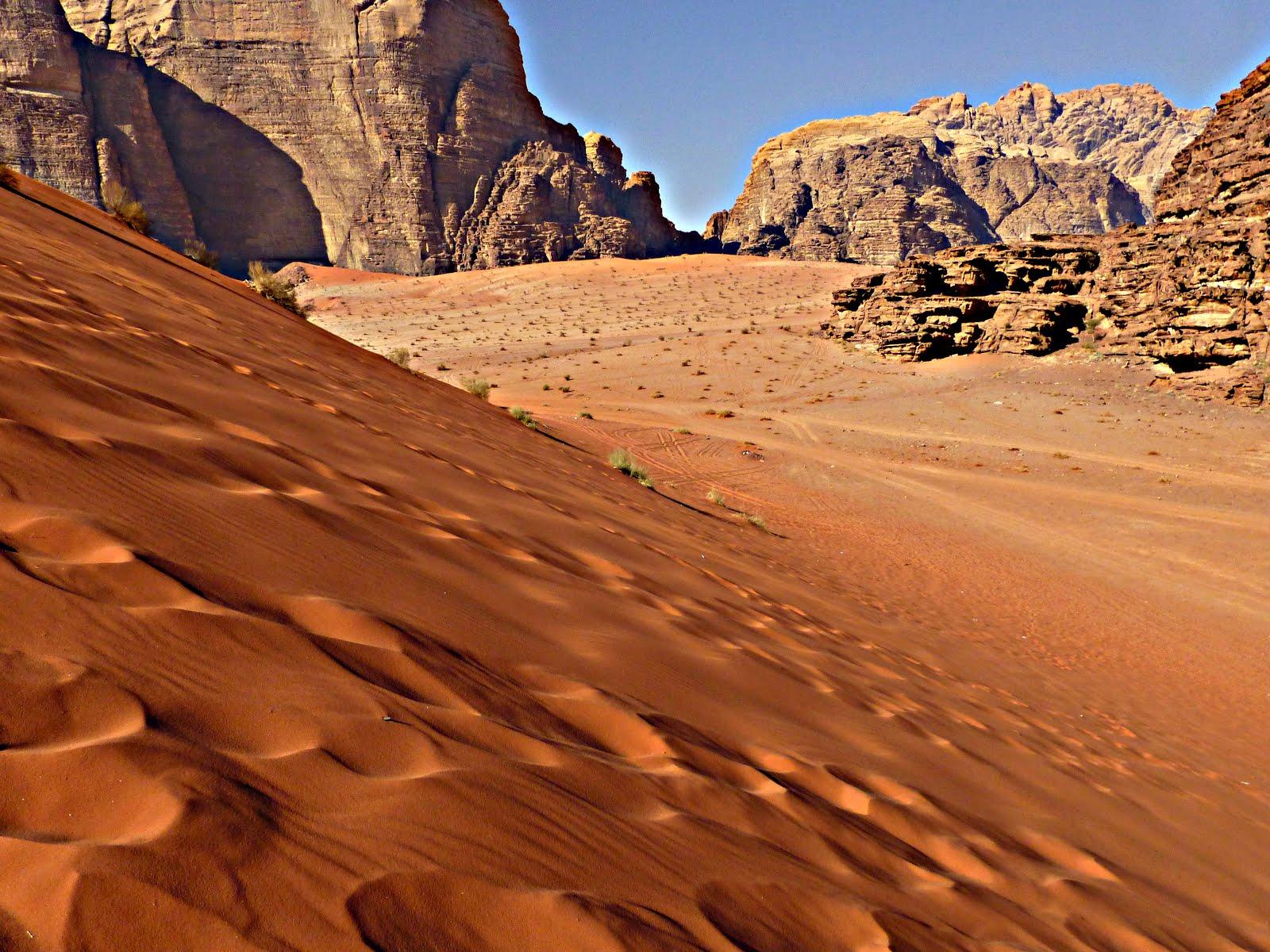 Pasar una noche en Wadi Rum