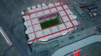PES 2020 Stadium Aerial View San Siro + Allianz Arena by Jostike