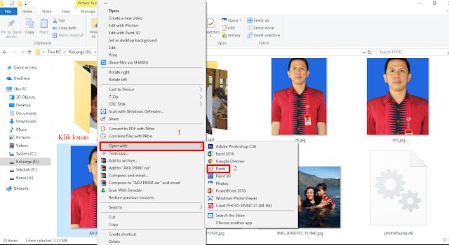 Cara Mudah Mengecilkan Ukuran Foto Untuk Daftar CPNS 2018