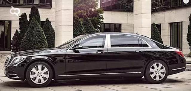 Mobil Mercedes-Benz Presiden Jokowi Terbaru