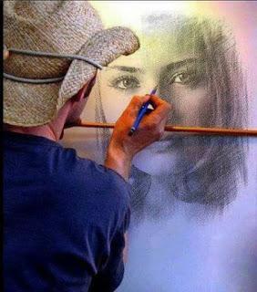 عندما يرسم الحب بريشة السراب