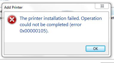 Hp Ink System Failure 0xc19a0007