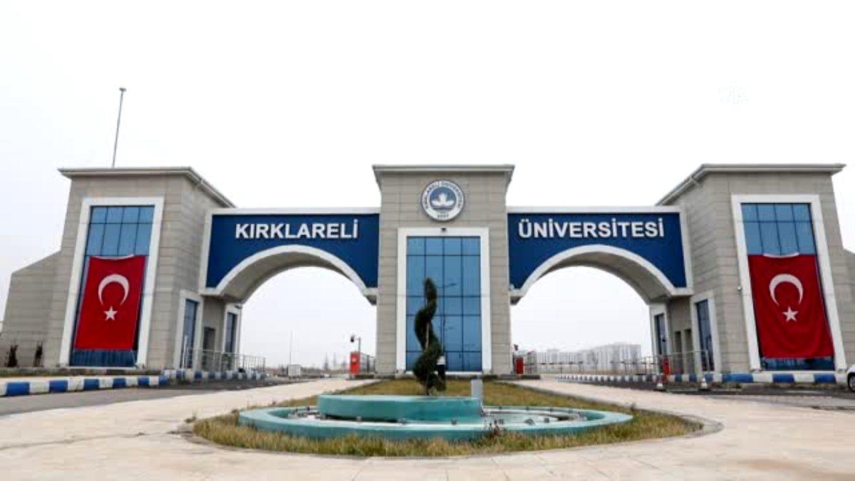 Kırklareli Üniversitesi Giriş Kapısı