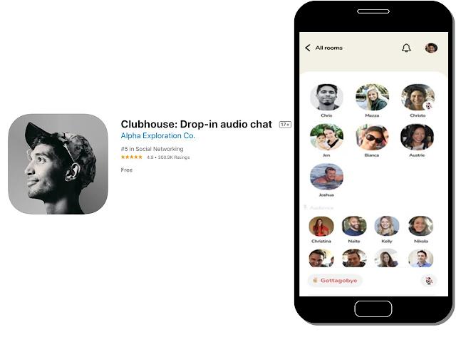 Mengenali Aplikasi Clubhouse Yang Populer