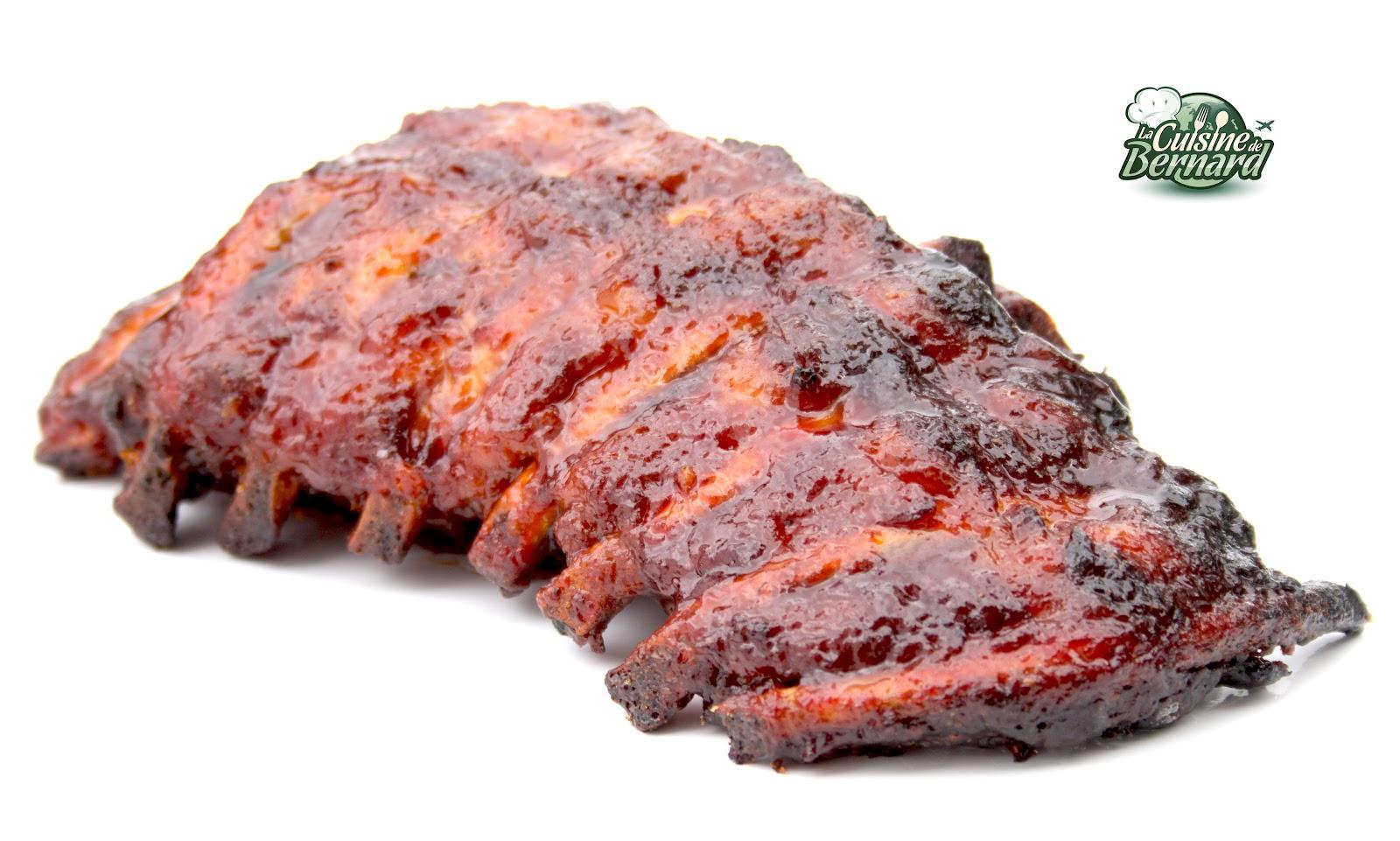 La cuisine de bernard travers de porc grill s sauce barbecue - Comment faire prendre un barbecue ...