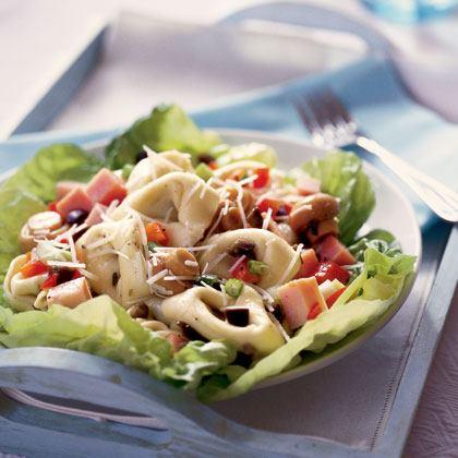 Tortellini and Ham Salad Recipe