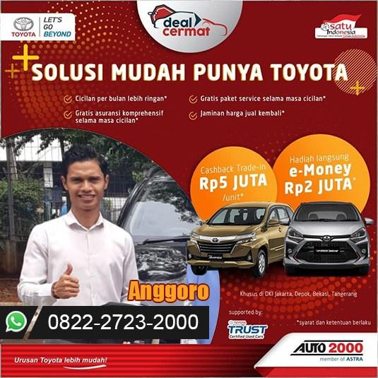 Promo Deal Cermat Toyota Bogor