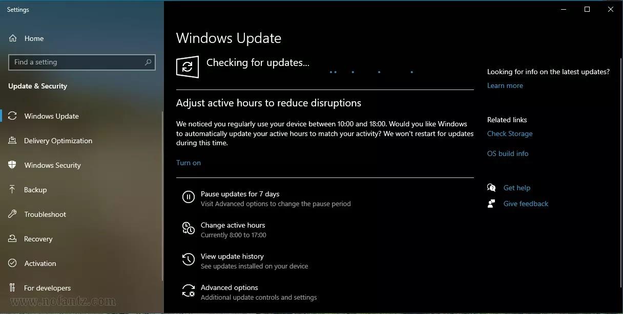 Windows Update normal