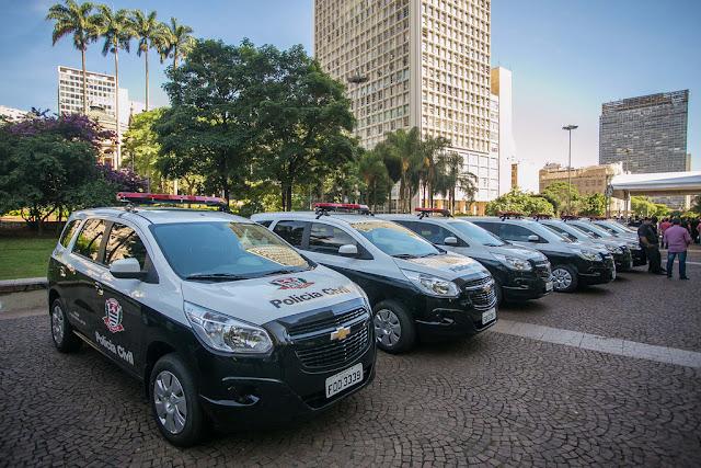 Concursos para Polícia Civil com 1,400 mil vagas em São Paulo