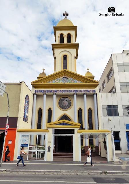 Vista ampla da Paróquia Santa Generosa - Vila Mariana - São Paulo