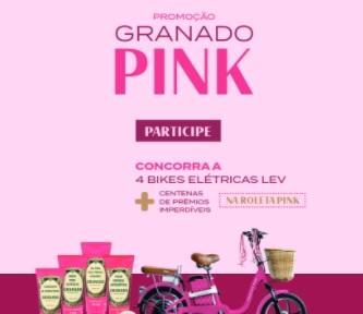 Promoção Granado Pink 2021