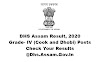 DHS Assam Grade IV Results 2020: Check Your Results @ Dhs.Assam.Gov.In