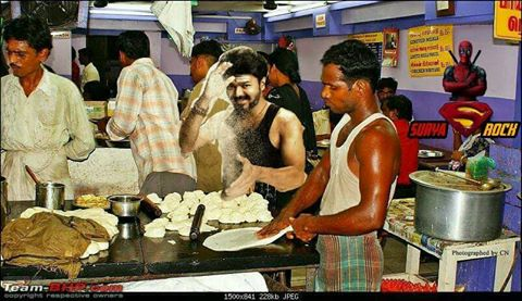 Actor Vijay Mersal Movie First Look and Memes