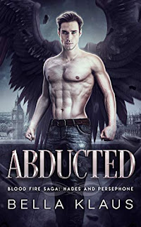 Abducted - a Hades and Persephone romance book promotion by Bella Klaus