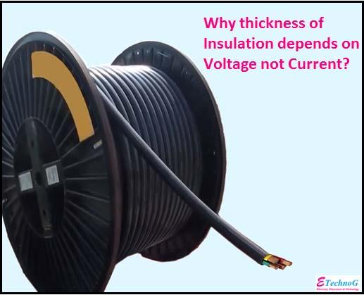 insulation depends on voltage