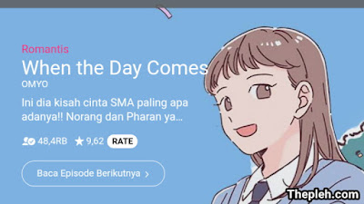 When the Day Comes Webtoon