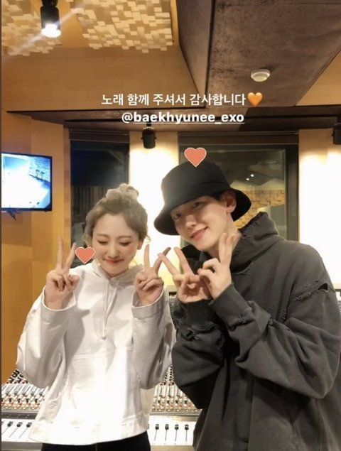 [PANN] Kalp hoplatan ikili BOL4 ve Baekhyun
