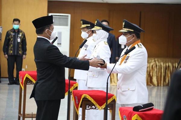 Pj Gubernur Kepri H Suhajar Diantoro, Usai Dilantik Diagendakan Sejumlah Rapat