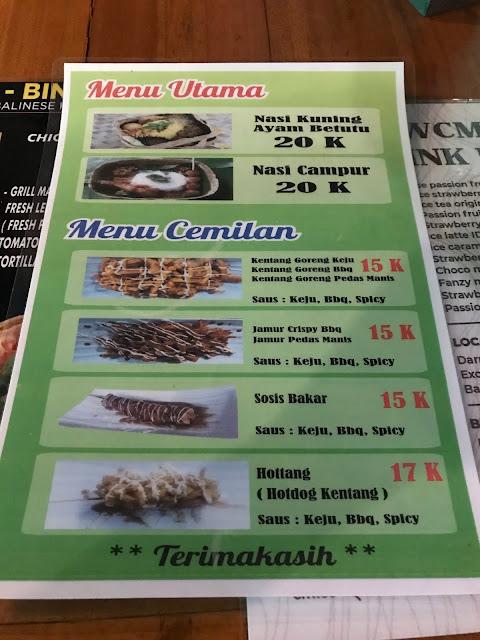 Warung Cuci Mata, Kuta, Bali Indonesia