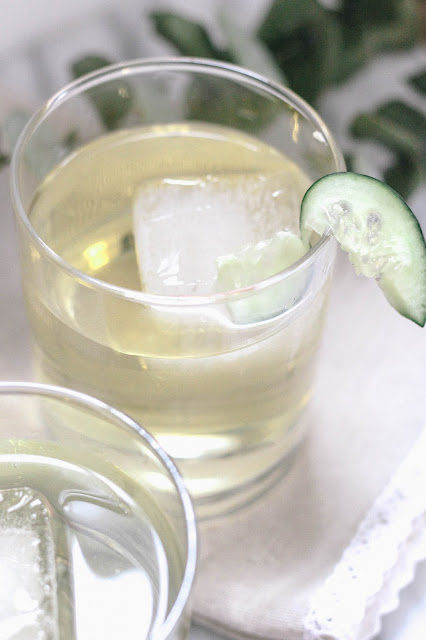 Fresh Cucumber Apple Cocktail
