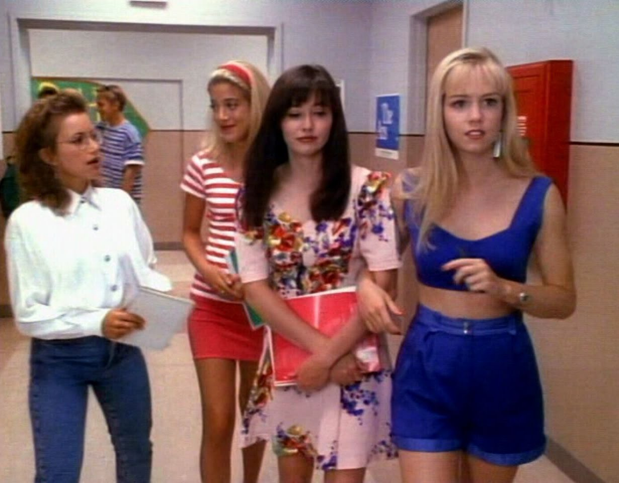 Important Life Lessons from Beverly Hills 90210 | Skinny Dip  Important Life ...