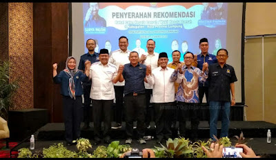 Ini Balon Kepala Daerah dan Wakil yang Direkomendasikan Nasdem Lampung