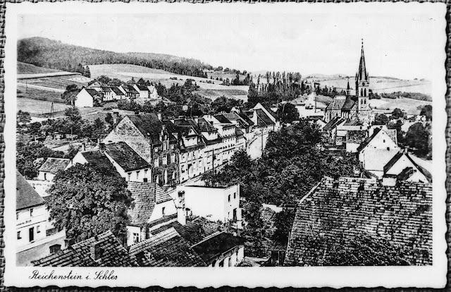 Reproduktion - Postkarte - Reichenstein in Schlesien - Złoty Stok Polen
