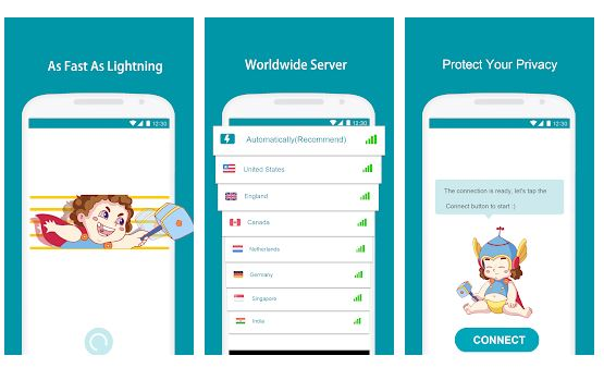 Thunder VPN 3.3.12: A Fast, Unlimited Free VPN Proxy For Android