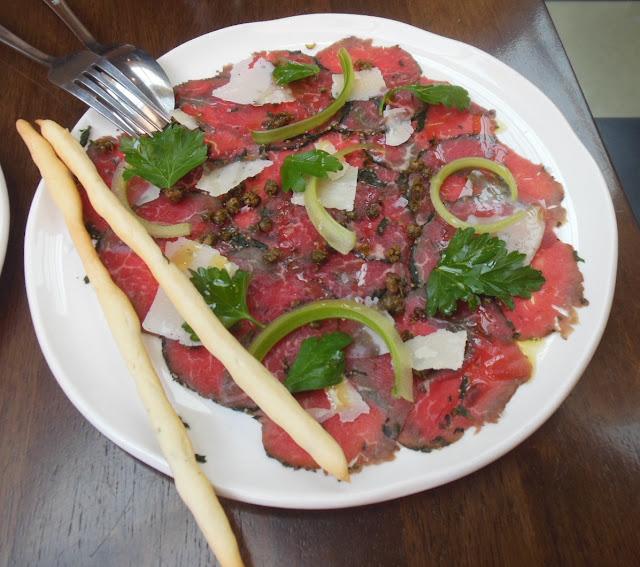 Gallery Restaurant, Ballarat, beef carpaccio