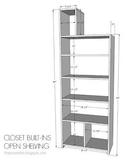 closet built-ins free plans