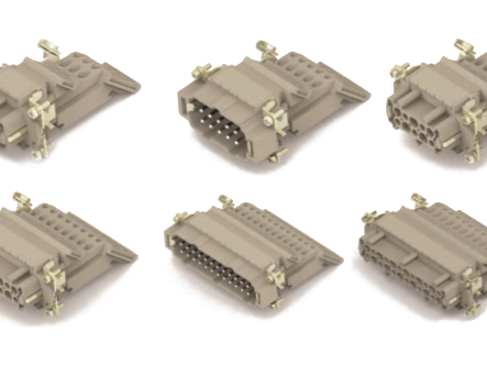 TE-HEAV Insert Power& Signal Connector