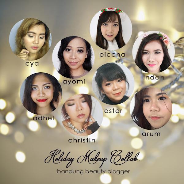Holiday Makeup Collaboration Bandung Beauty Blogger