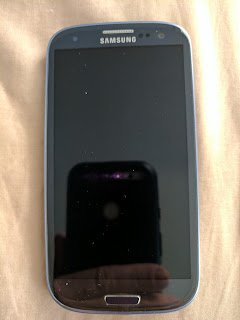 Samsung Galaxy S3 (front).