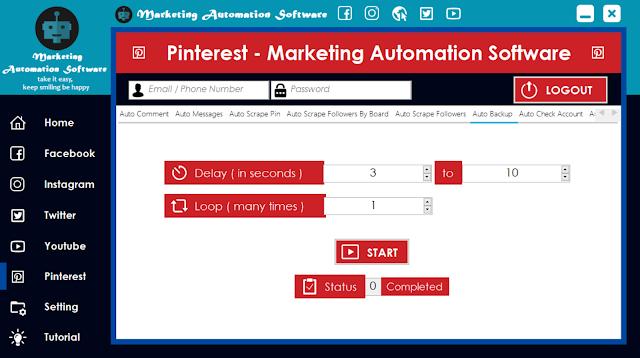 Cara Cepat Backup Data Pinterest Secara Automatis