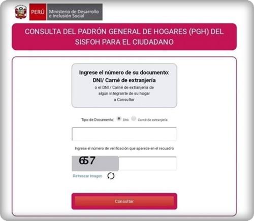 MIDIS Aprueba Padrón para Subsidio de S/ 380 por Pandemia de Coronavirus