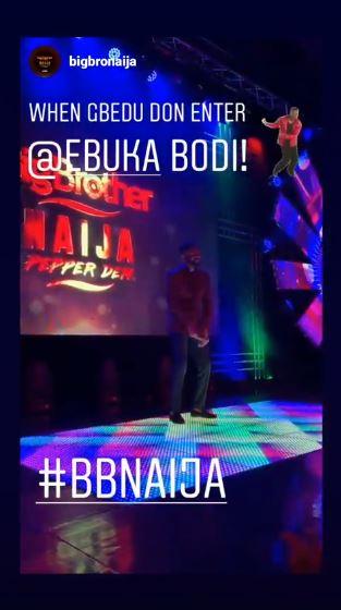 #BBNaija: Ebuka Dances Zanku And Gbe Body As Fans Hail And Cheered Him Up (VIDEO)