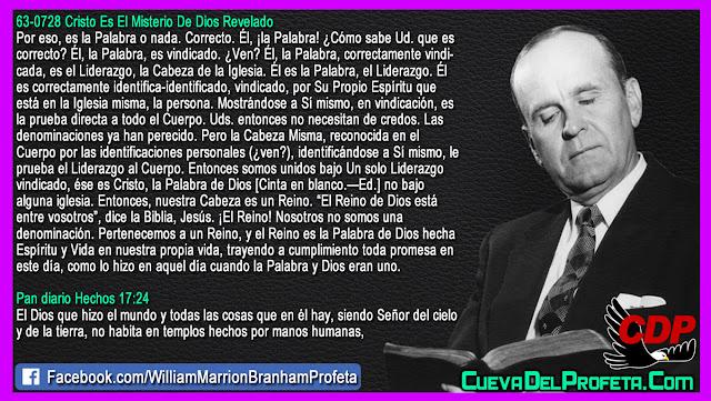 La Verdadera Cabeza de la Iglesia - William Branham en Español