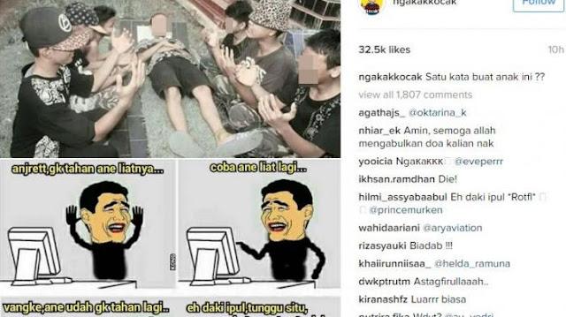 Barisan Bocah Alay Berulah, Foto Bocah Tiduran di Atas Makam Ini Bikin Netizen Geram