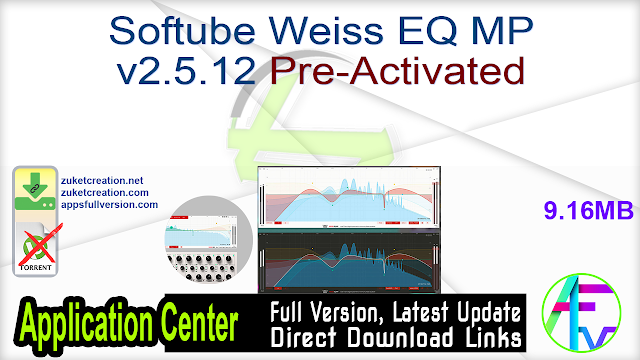 Softube Weiss EQ MP v2.5.12 Pre-Activated