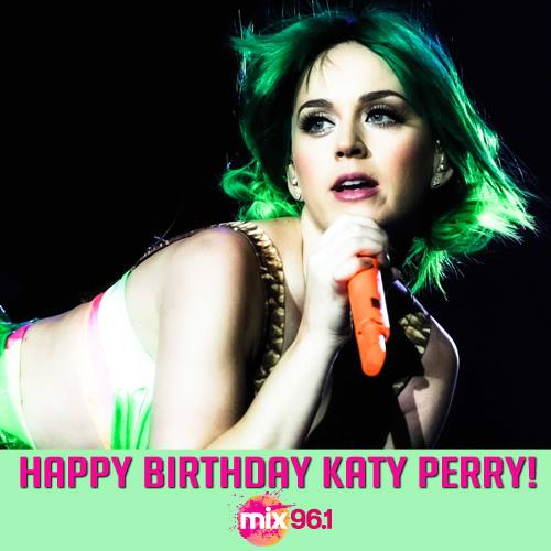 Katy Perry's Birthday Wishes Images
