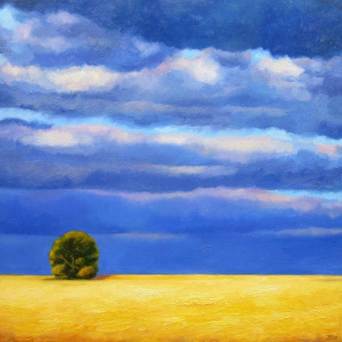 Абстрактный реализм. Ieva Baklane