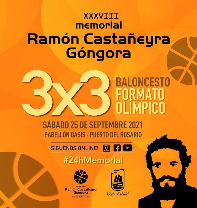 Fuerteventura.-  El Memorial Ramón Castañeyra Góngora de baloncesto se mantiene vivo con un 3x3 Olímpico