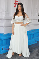 Telugu Actress Amyra Dastur Stills in White Skirt and Blouse at Anandi Indira Production LLP Production no 1 Opening  0008.JPG