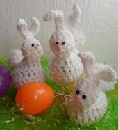 crochet bunny easter egg holder tutorial