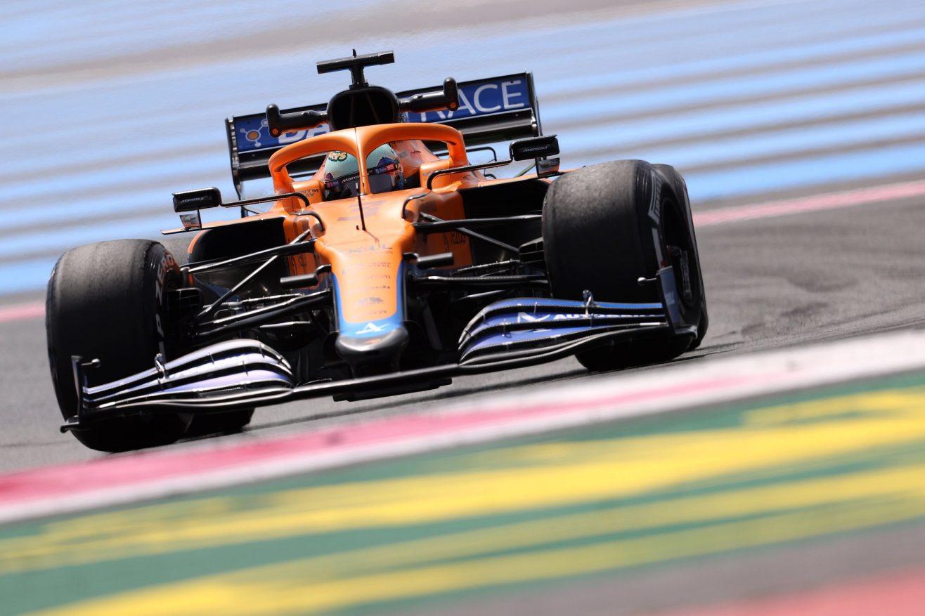 O que a equipe McLaren disse - sexta-feira na França