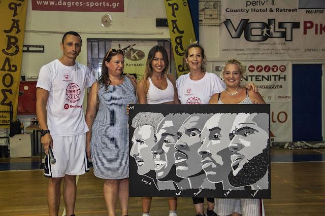 """Το Nafplio 3on3 """"Just Basketball"""" έστειλε το μήνυμα της αλληλεγγύης σε ασθενή με καρκίνο"""