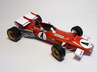 Ferrari 312B - I. Giunti / C. Regazzoni / J. Ickx - Belgium GP 1970 (FT) NEW LINK