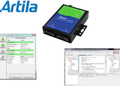 Programmable Device Server from Artila, Product List to support with any kind of idea in case of industrial daily life